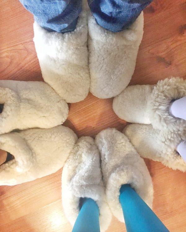 Pantuflas familiares