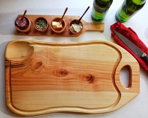 Tabla de madera para cortar
